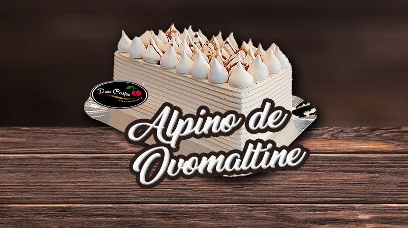 Choccotino Ovomaltine (Bolo Alpino Ovomaltine)