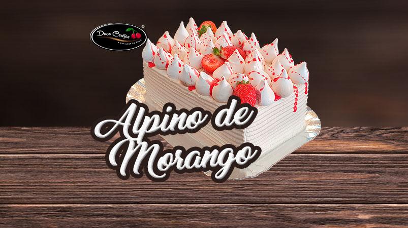 Choccotino de Morango (Bolo Alpino Morango)