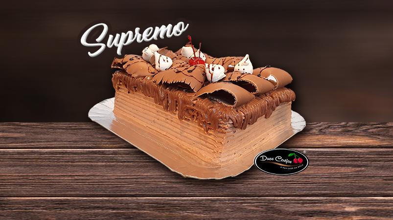Duas Cerejas Max de Chocolate (Bolo Supremo)