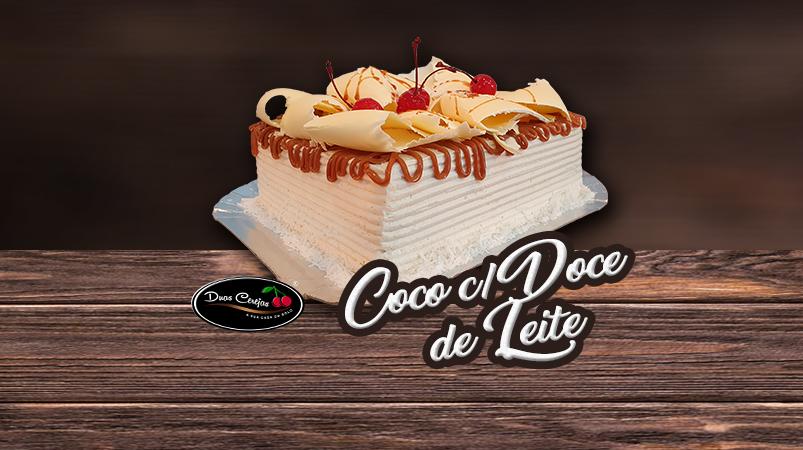 Coco com Doce de Leite